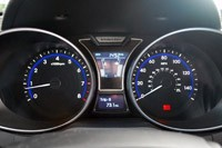 2013 Hyundai Veloster Turbo gauges