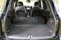 2013 Mini Countryman John Cooper Works All4 rear cargo area