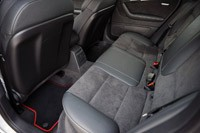 Audi A3 e-tron rear seats
