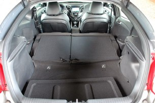 2013 Hyundai Veloster Turbo rear cargo area