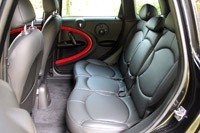 2013 Mini Countryman John Cooper Works All4 rear seats
