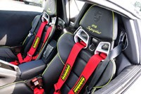 2014 Porsche 918 Spyder seats