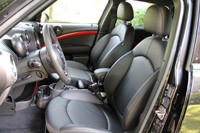 2013 Mini Countryman John Cooper Works All4 front seats
