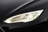 2012 Tesla Model S headlight