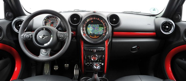 2013 Mini Countryman John Cooper Works All4 interior