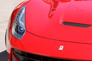 2013 Ferrari F12 Berlinetta front detail