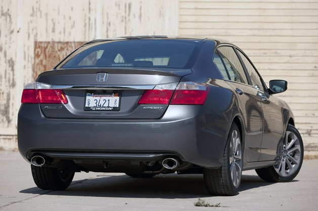 2013 Honda Accord Sport Rear 3/4 View