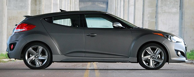 2013 Hyundai Veloster Turbo side view