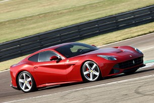 2013 Ferrari F12 Berlinetta driving
