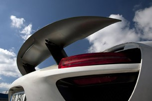 2014 Porsche 918 Spyder rear wing