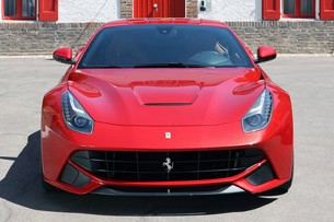 2013 Ferrari F12 Berlinetta front view