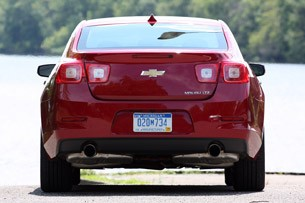 2013 Chevrolet Malibu 2.5 rear view