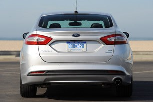 2013 Ford Fusion rear view