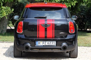 2013 Mini Countryman John Cooper Works All4 rear view