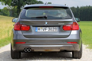 2014 BMW 3 Series Sports Wagon rear view