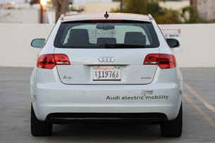 Audi A3 e-tron rear view