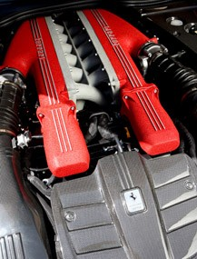 2013 Ferrari F12 Berlinetta engine