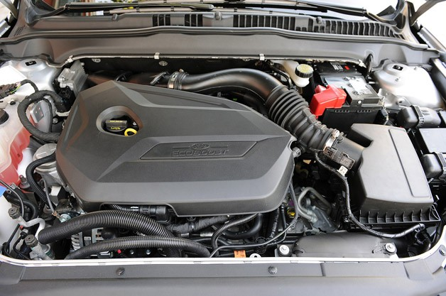 2013 Ford Fusion engine