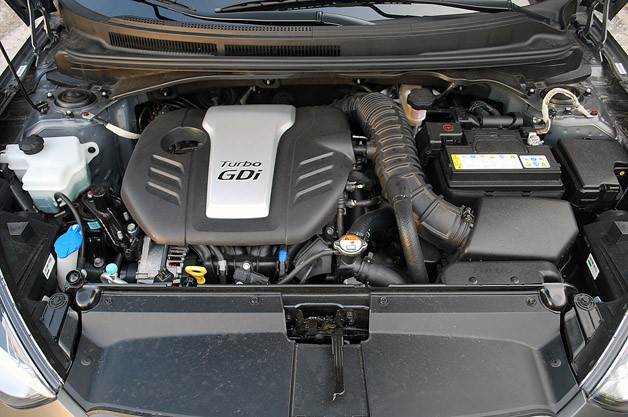 2013 Hyundai Veloster Turbo engine