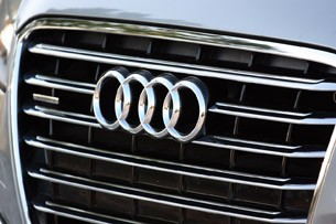 2013 Audi A8L 3.0T Quattro grille