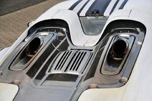 2014 Porsche 918 Spyder engine cover