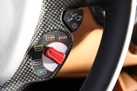 2013 Ferrari F12 Berlinetta steering wheel controls