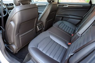 2013 Ford Fusion rear seats
