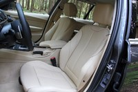 2014 BMW 3 Series Sports Wagon front seats