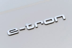 Audi A3 e-tron badge