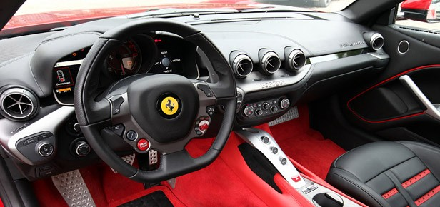 2013 Ferrari F12 Berlinetta interior