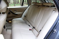 2014 BMW 3 Series Sports Wagon rear seats