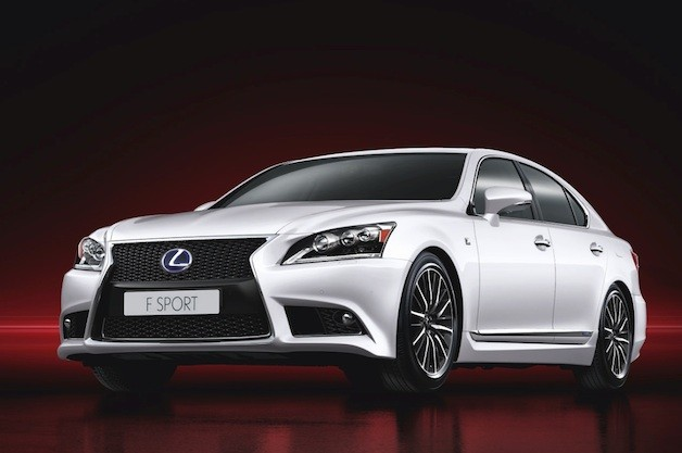Lexus LS 600h F Sport