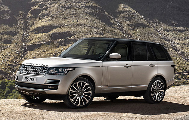 2013 Land Rover Range Rover - front three-quarter static view