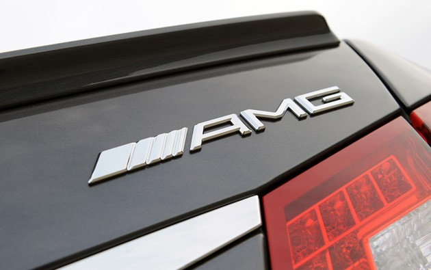 Mercedes-Benz E63 AMG badge