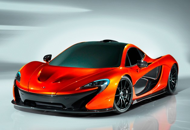 McLaren P1 design study - studio shot - front three-quarter view