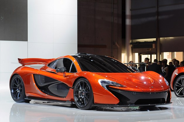McLaren P1 concept - live at the 2012 Paris Motor Show
