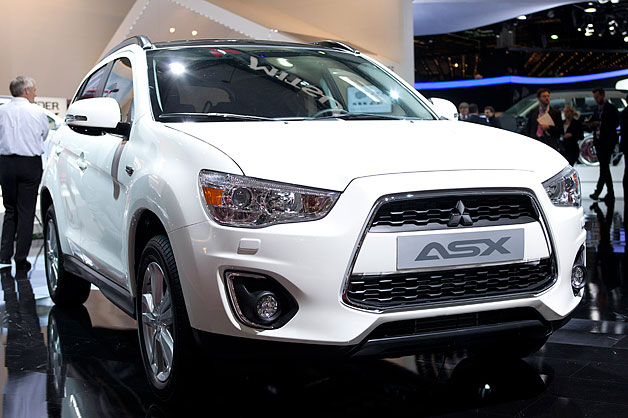 Mitsubishi ASX is French for Outlander Sport