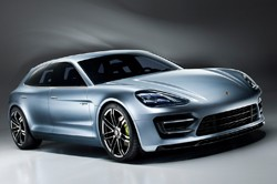 Porsche Panamera Sport Turismo Concept - front three-quarter view