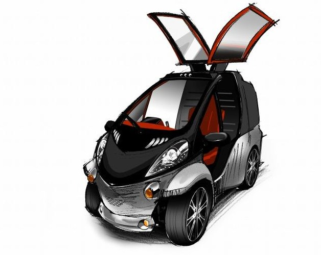 Toyota Smart INSECT rendering - official