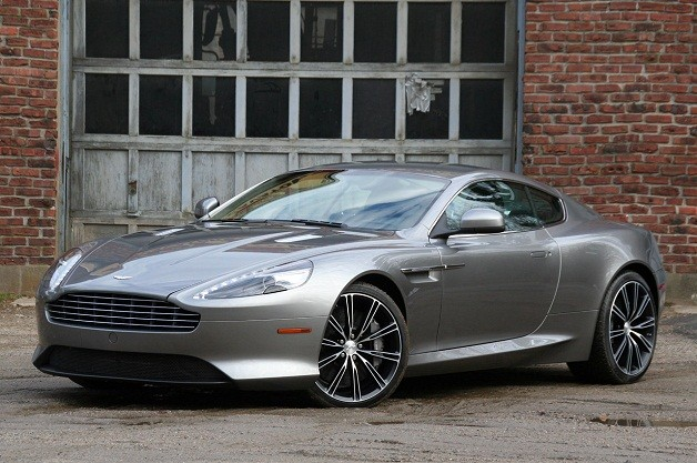 2012 Aston Martin Virage - front three-quarter view