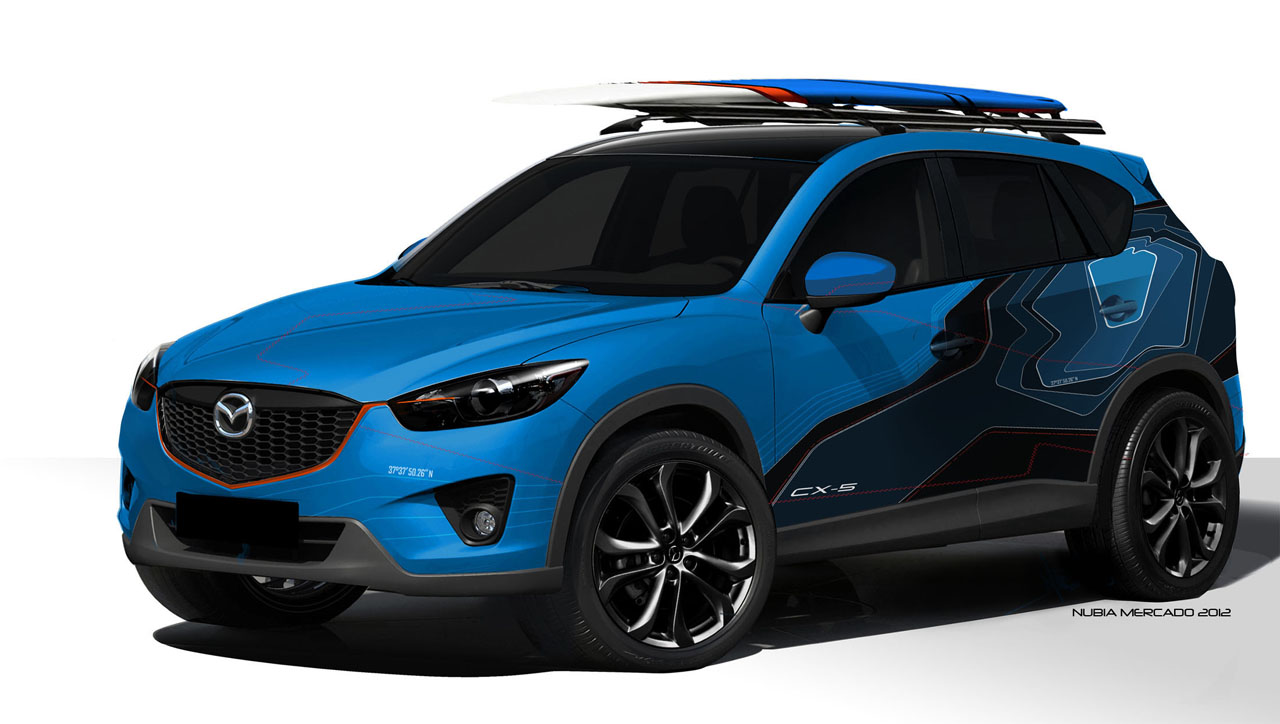 2013 mazda cx 5 sema show concepts photo gallery autoblog. Black Bedroom Furniture Sets. Home Design Ideas