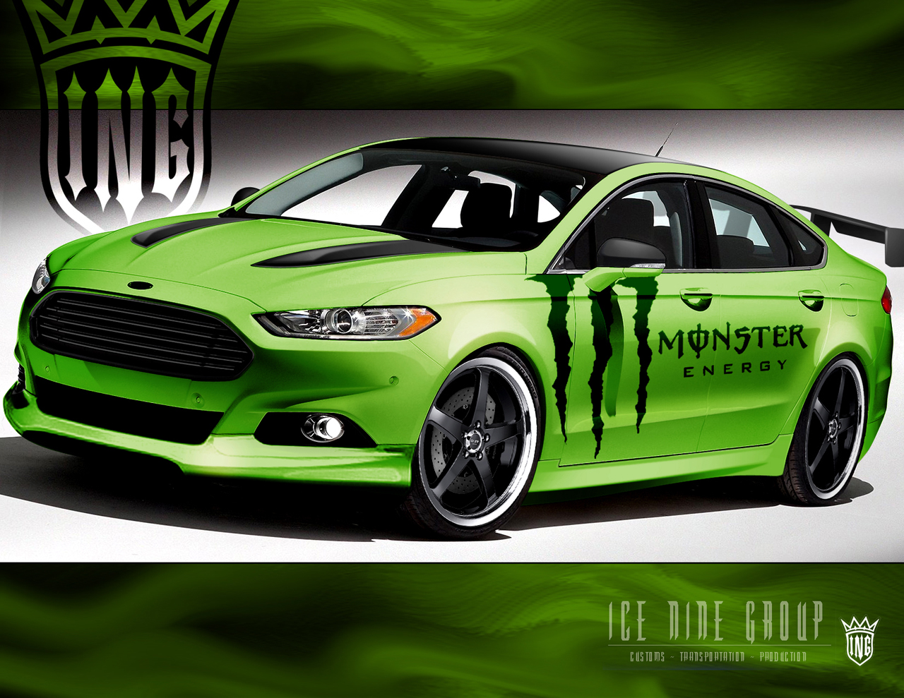 Ford Shows Off Sema Bound Fusion Specials Autoblog