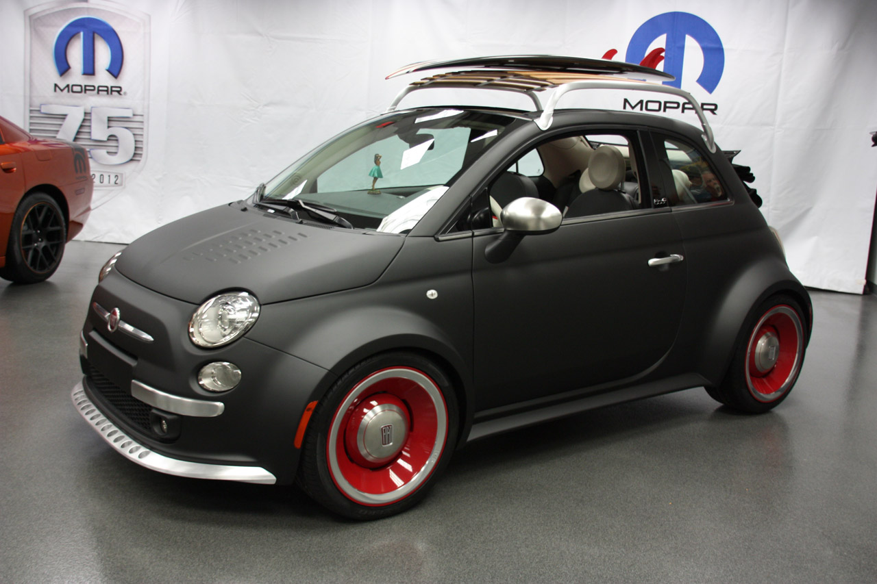 mopar fiat 500 sema 2012 photo gallery autoblog. Black Bedroom Furniture Sets. Home Design Ideas
