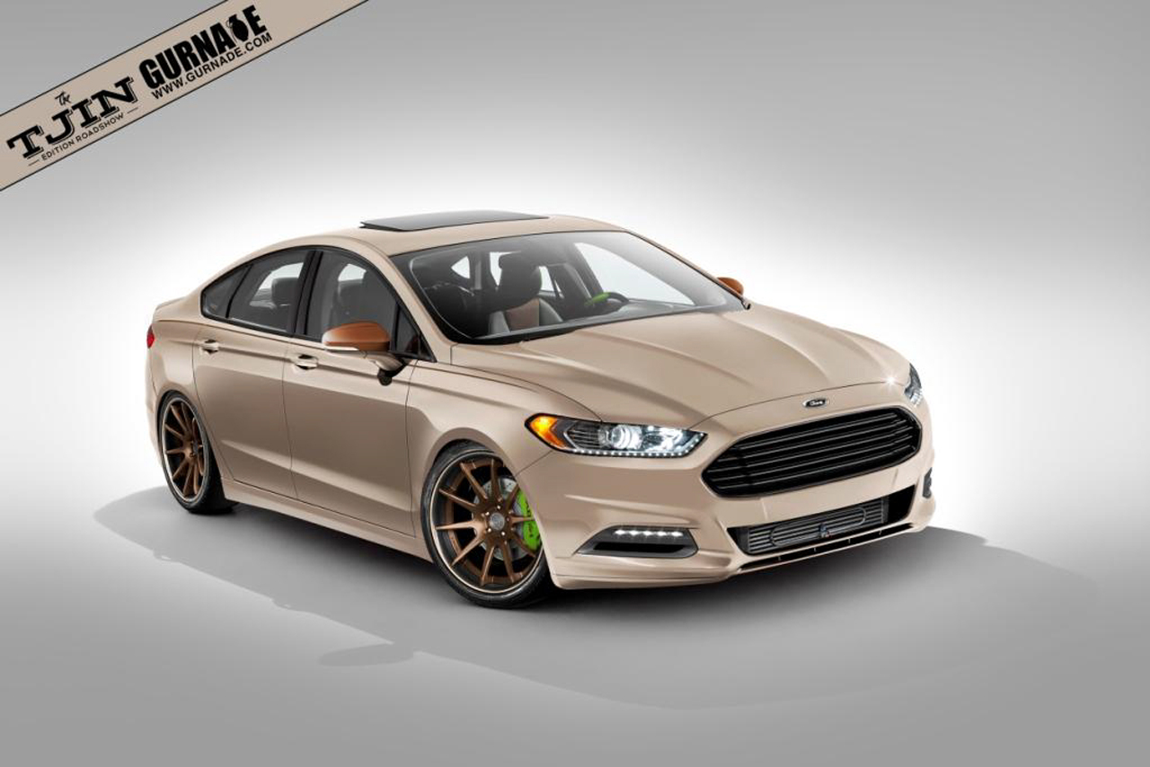 ford shows off sema bound fusion specials autoblog. Black Bedroom Furniture Sets. Home Design Ideas