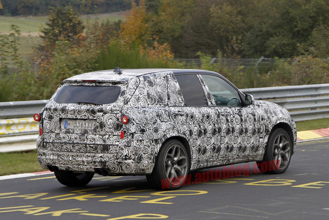 Next Bmw X5 M Snapped Storming The N 252 Rburgring Autoblog