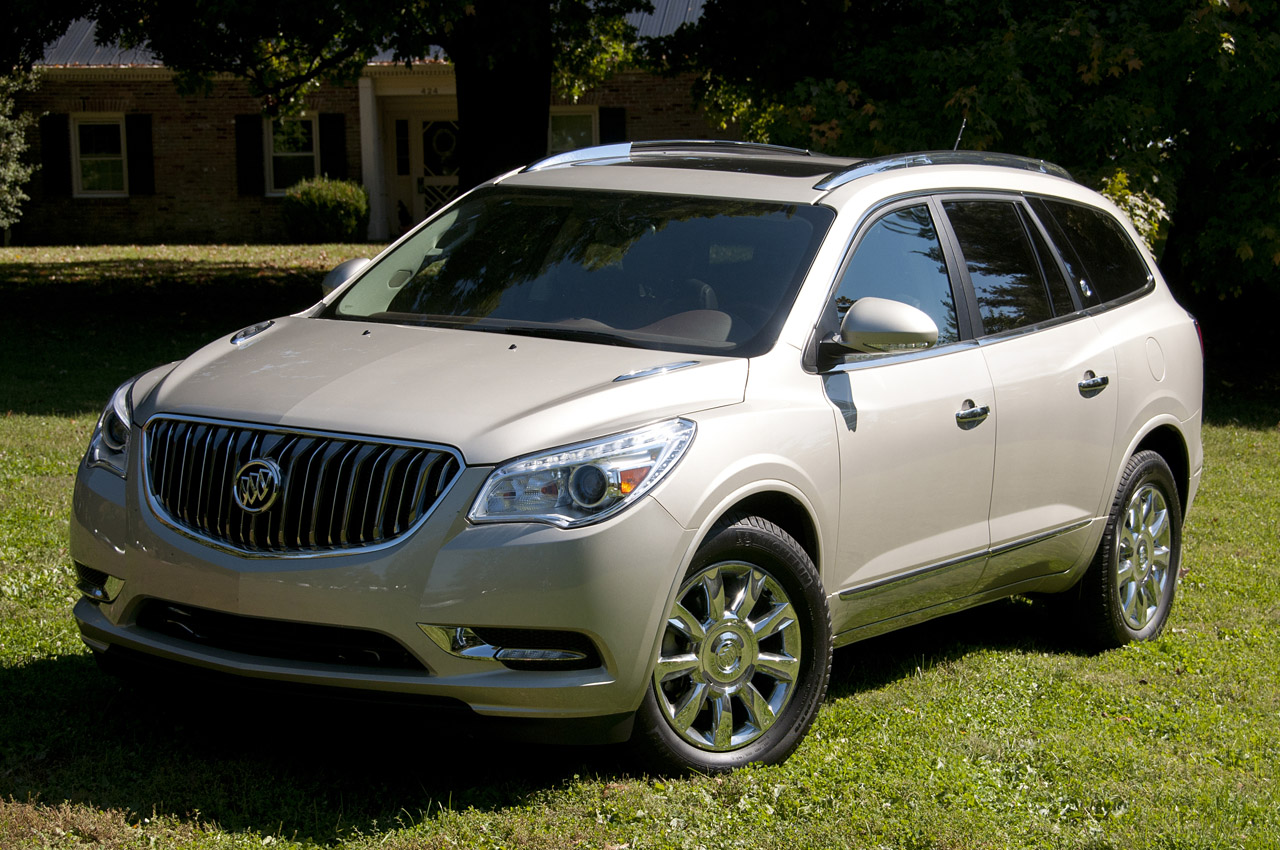 2013 buick enclave first drive photo gallery autoblog. Black Bedroom Furniture Sets. Home Design Ideas