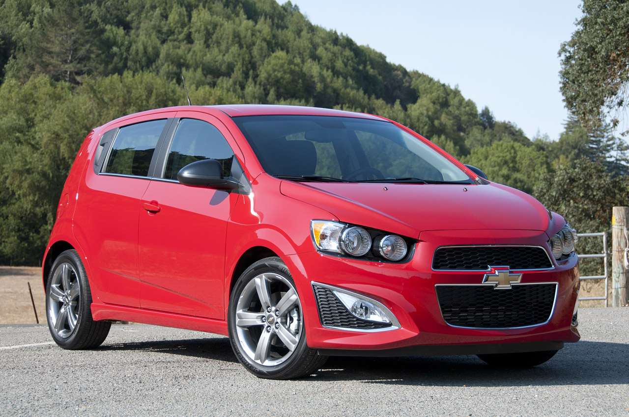 2013 Chevrolet Sonic RS First Drive [w/video] - Autoblog