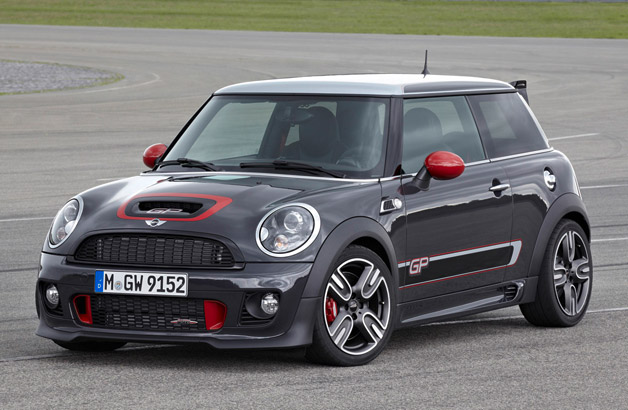 2013 Mini John Cooper Works GP - front three-quarter view