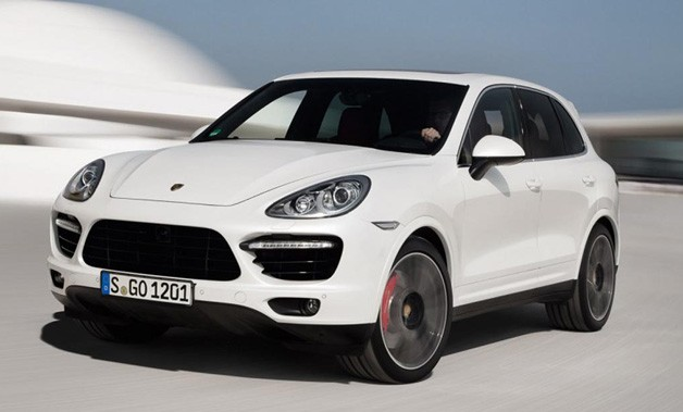2013 Porsche Cayenne Turbo S