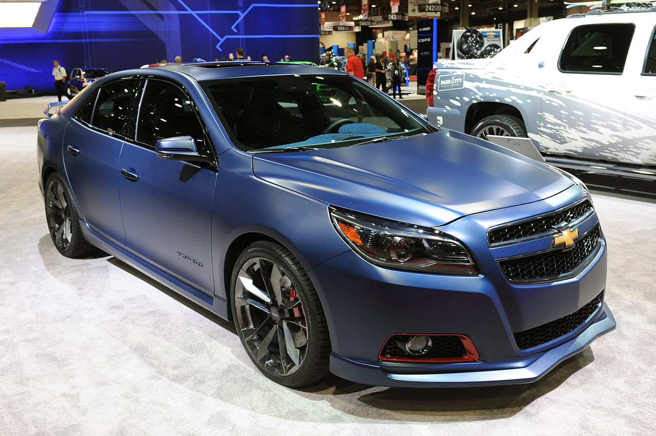 chevy malibu turbo performance concept is hotted up for